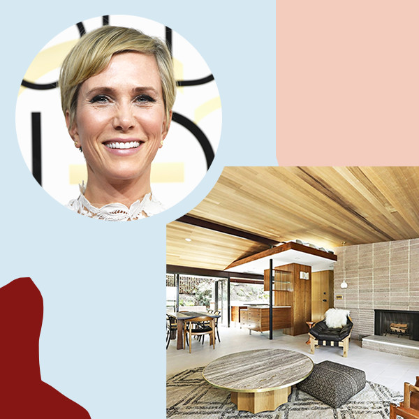 Kristen Wiig's $5.1 Million Silverlake Home Is A Mid-Century Modern Dream