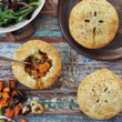 Roasted Autumn Vegetable Pot Pies