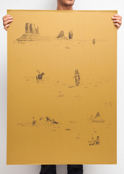 Cowboys & Indians Wallpaper by The Make House