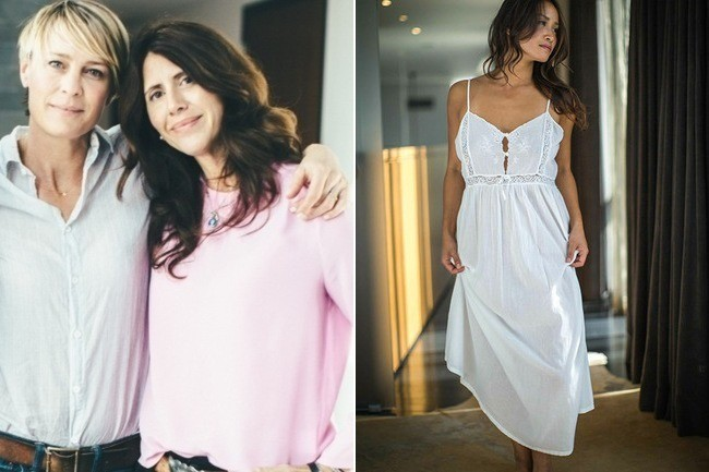 Robin Wright Designs Pajamas for a Great Cause - The Find - Lonny 4101a9475