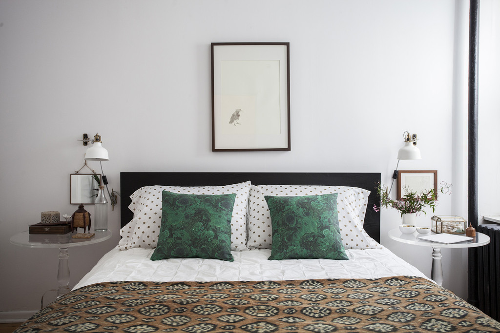 Bed time home tour katy skelton 39 s small apartment in for Ikea katy texas