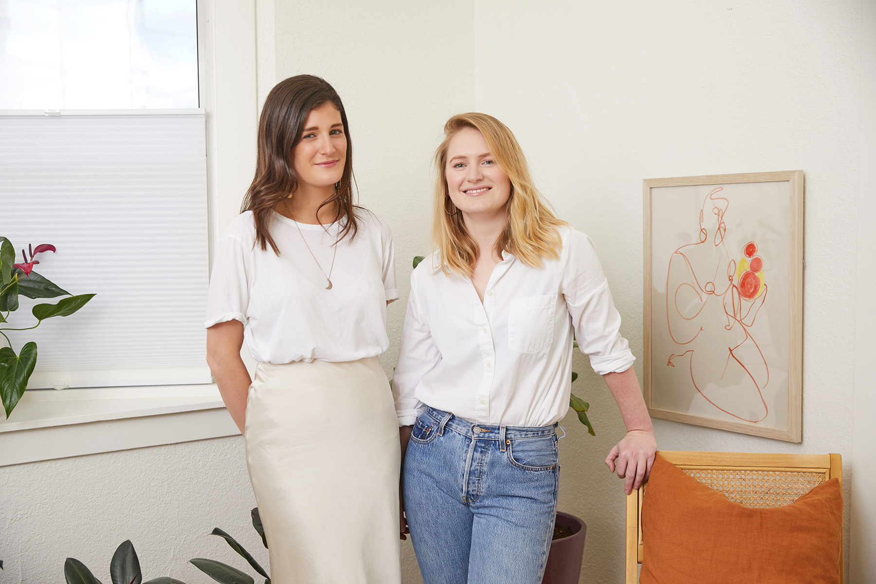 Dipsea co-founders Gina Gutierrez and Faye Keegan.
