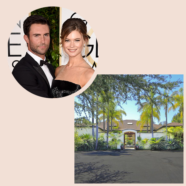 Adam Levine & Behati Prinsloo's New $18 Million L.A. Estate