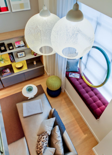 As more young people move into urban spaces and increasingly compact apartments, do you have any design tips for them on making the most of a small space?