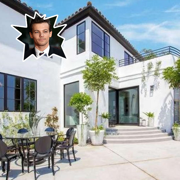 Louis Tomlinson Bought A $7.8 Million Hollywood Hills Home