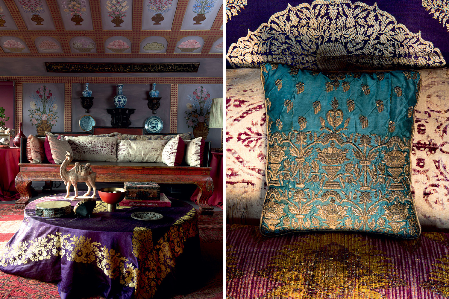 Delve into this richly elaborate style in the forthcoming book Ottoman Chic (Assouline).