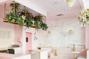 Holy Matcha Is The Pink Terrazzo Dream You Need In Your Life