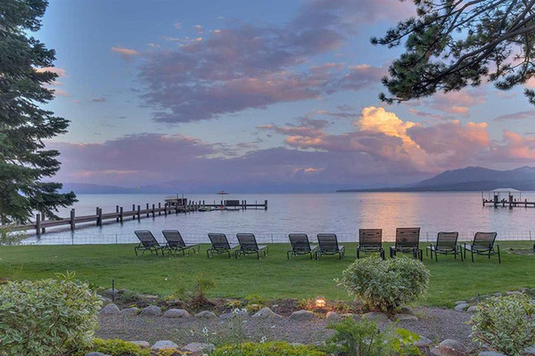Sunset Spot - Inside Mark Zuckerberg's $59 Million Lake Tahoe Compound - Lonny
