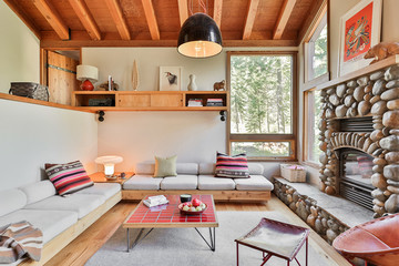 Take A Winter Getaway In Heath Ceramics' Remodeled Tahoe Cabin