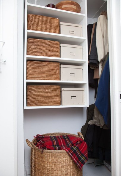 The Entry Closet After