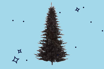 Wayfair Says Everyone Is Getting Black Christmas Trees In 2018