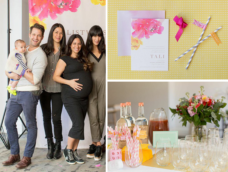 Nate Berkus and Rebecca Minkoff Throw a Baby Shower - Lonny