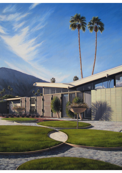 Twin Palms Landscape