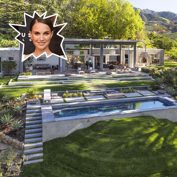 Natalie Portman's $6.5 Million Modern Montecito Mansion