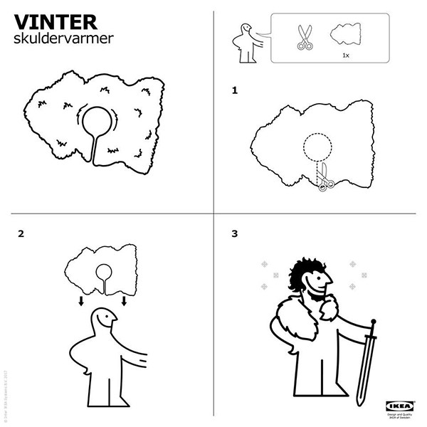 IKEA Teaches Us How To Make Game Of Thrones Costume — Wins Internet