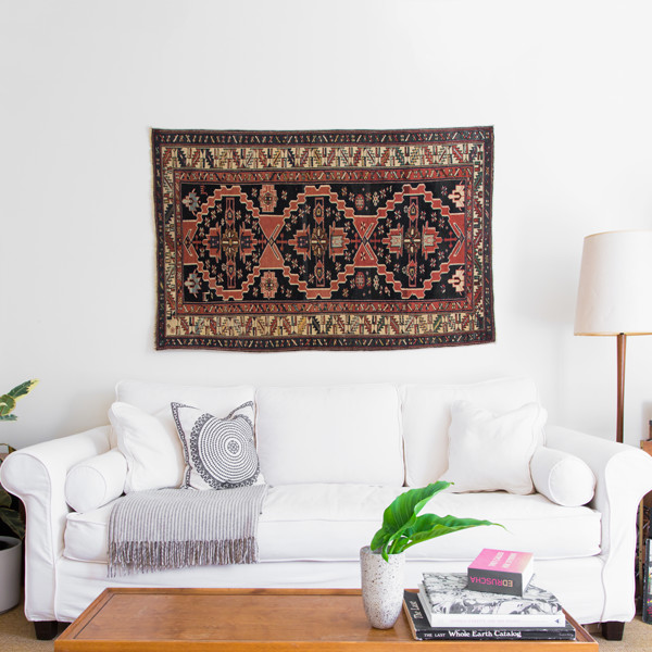 How To Style An Antique Rug Three Ways