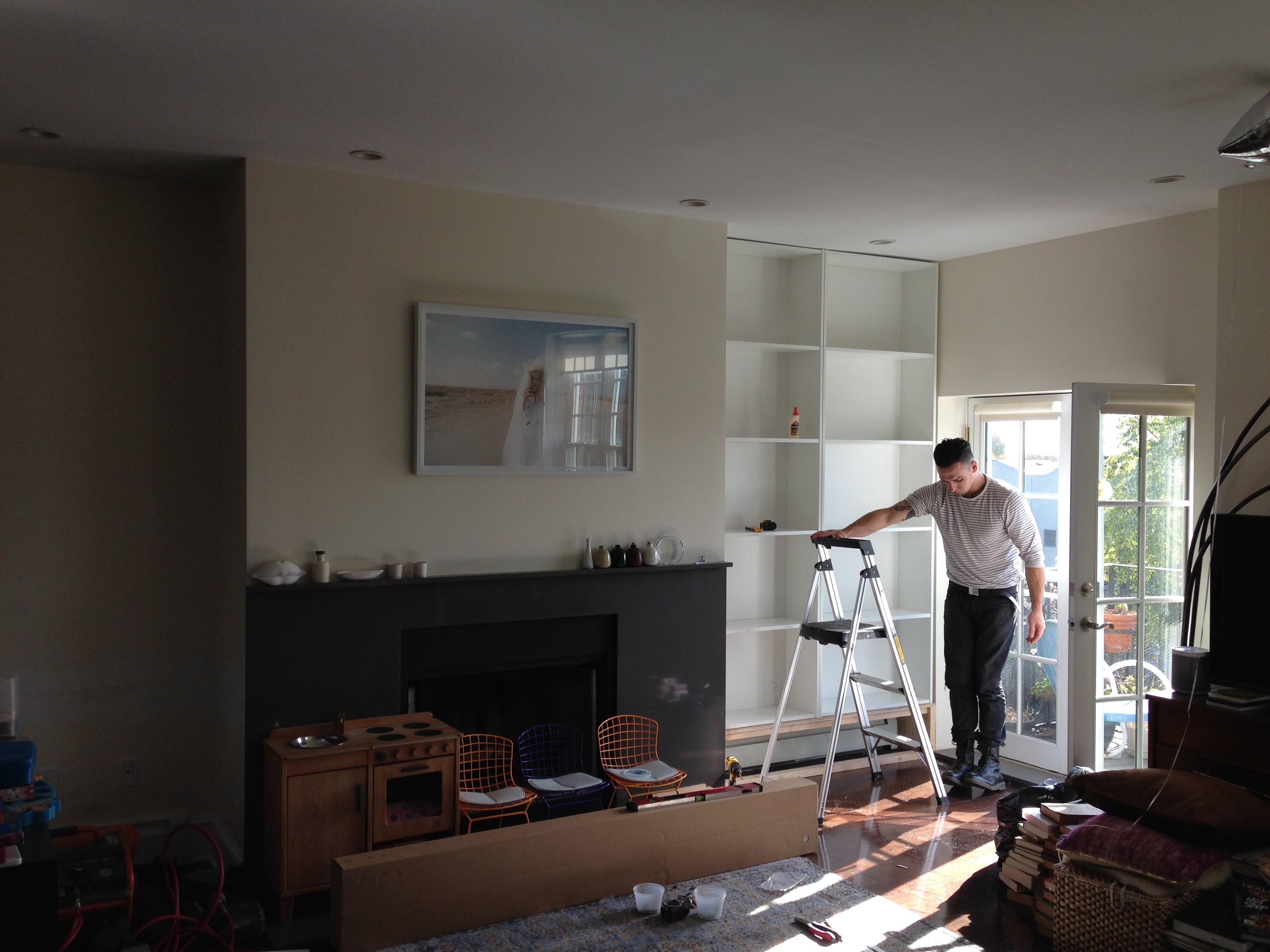 Billy Bookshelves In The House Behind The Scenes Irene