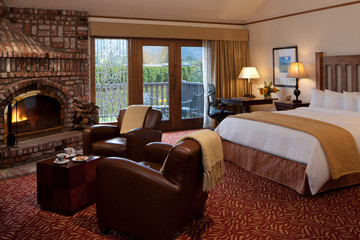 Staying Toasty at Napa Valley's Harvest Inn