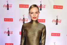Kate Bosworth Glitters in Gold
