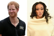 Prince Harry Photobombs Model Winnie Harlow in the Best Way