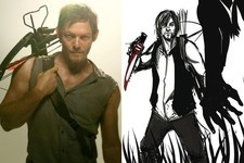 Norman Reedus Turned His Favorite Daryl Dixon Fan Art into a Book