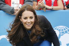 Kate Middleton Gets Sporty