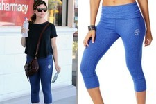 Found: Tiffani Thiessen's Workout Pants