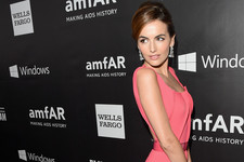 Camilla Belle's Pink Gown
