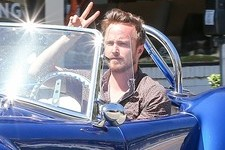 Aaron Paul Has a Sweet Ride