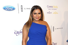 Look of the Day: Mindy Kaling's Classic Frock