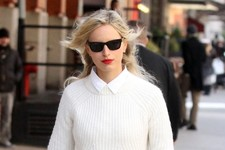 Karolina Kurkova Clearly Doesn't Worry About Stains