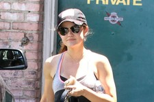 Lucy Hale Stays Fit