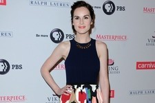Michelle Dockery's Chic Dress