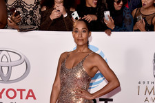 Tracee's Metallic Moment