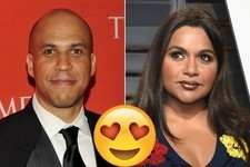 Mindy Kaling and Sen. Cory Booker Set Up a Date on Twitter, Break Hearts Across the World